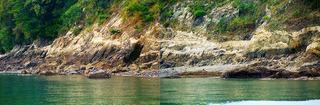 [4月30日] 鏡浦の大岩脈が県天然記念物に指定 国の指定に期待膨らむ 急がれる環境整備
