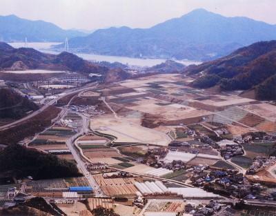 因島重井商工業団地 3年半で完売 立地企業は5社