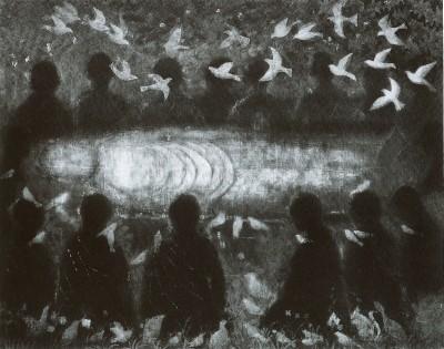 平山郁夫美術館 新収蔵特別展後期「入涅槃幻想」展示