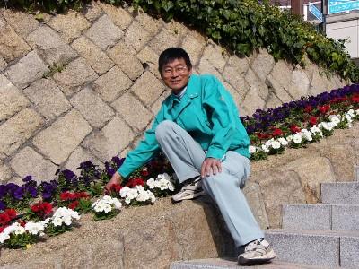 新しい出発を担う 因島フラワーセンター副園長 村上実さん(47)