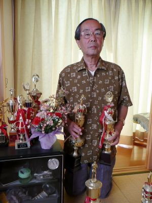 写真二科展に初入選 因島文化協会理事松岡秀明さん(71)