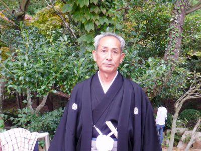 継承の役割を担う 奉納相撲31代頭取 田頭庄次郎さん(61)
