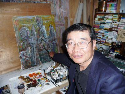 日展12回受賞の栄誉 光風会会員 東 嘉美さん(60)