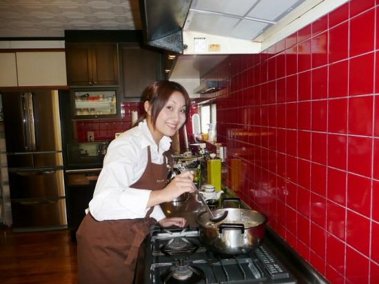 和食による食育の普及 料理教室主宰 幡地縁さん(31)