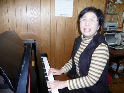 音楽で障害緩和の手助け音楽療法士 中矢聡子さん (56)