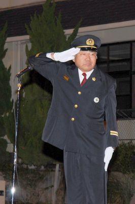 合併後も変らぬ体制堅持 尾道市消防団副団長・柏原勇さん (55)