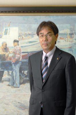 尾道市長 平谷祐宏氏