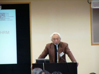 青木昌彦名誉教授ら東京でフォーラム開催「会社統治と人的資源」