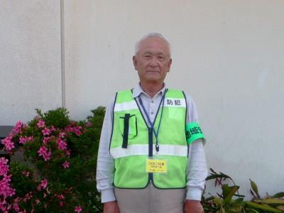 朝の挨拶で児童と交流 教育ボランティア 福島晴登さん(80)