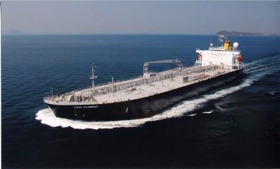 内海造船瀬戸田 タンカーが完工