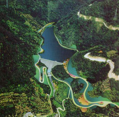 ダムの水を待つ重井東部ほ場【上】計画から17年 奥山ダム工事完成 今年度から農地への給配水管埋設着工