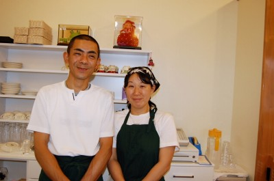 脱サラの夢開く サイクリングロード誘う海辺の館「カフェテラス菜のはな」店主・岡野信亮さん(46)