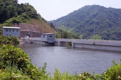 因島奥山ダム湛水テスト 20日ごろ自然放水開始 農家の給水来年度から