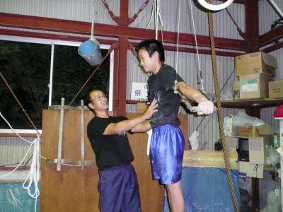 全日本社会人体操40歳代1位 三原高 濱田佳宏教諭(中庄)