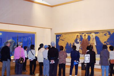 開館10周年記念特別展「平成の平山郁夫」27日まで 作品に浮かぶ平和への祈り