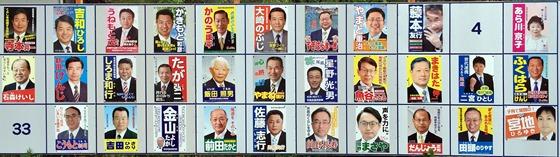 尾道市議選立候補者