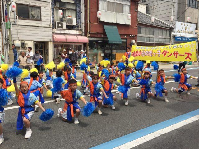 因島南小日の光っ子ダンサーズ(因島南小学校)